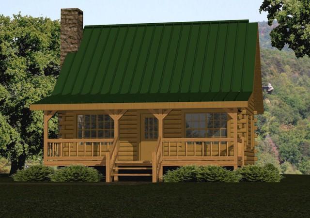 Small Log Cabin Kits Floor Plans Cabin Series From Battle Creek Tn